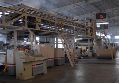 七層瓦楞紙板生產線