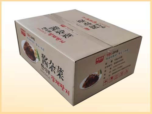 韓食府醬榨菜貼面彩箱